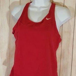 Nike Racerback Tank Athletic Top Yoga Running Pink